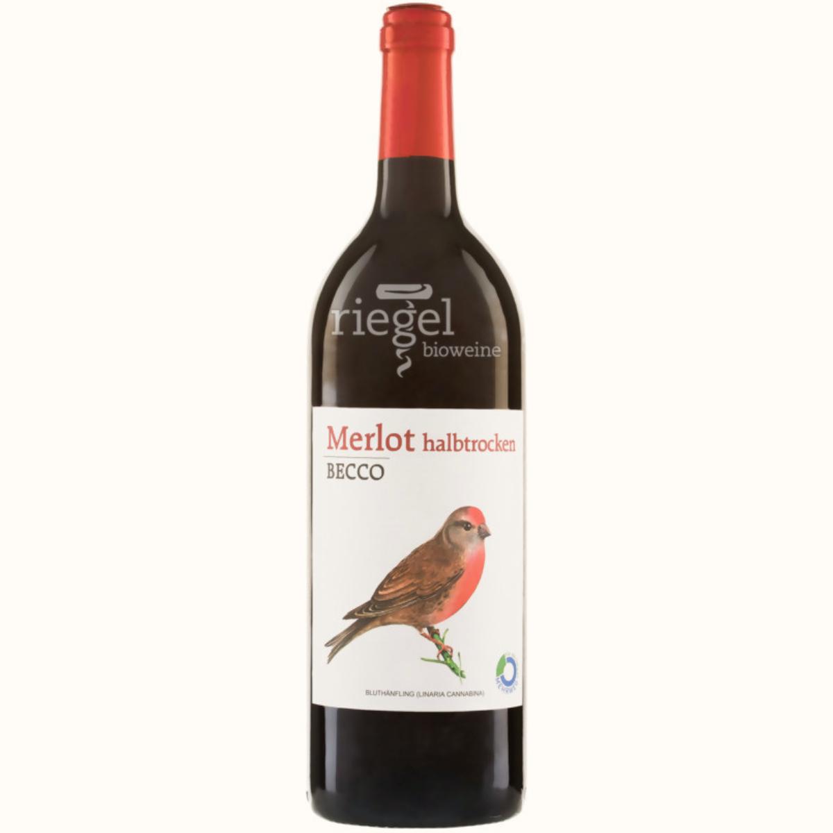 Becco Merlot, Biowein, Riegel Biowein, Wein kaufen
