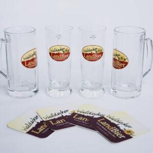 Biergläser, Waldecker Landbier