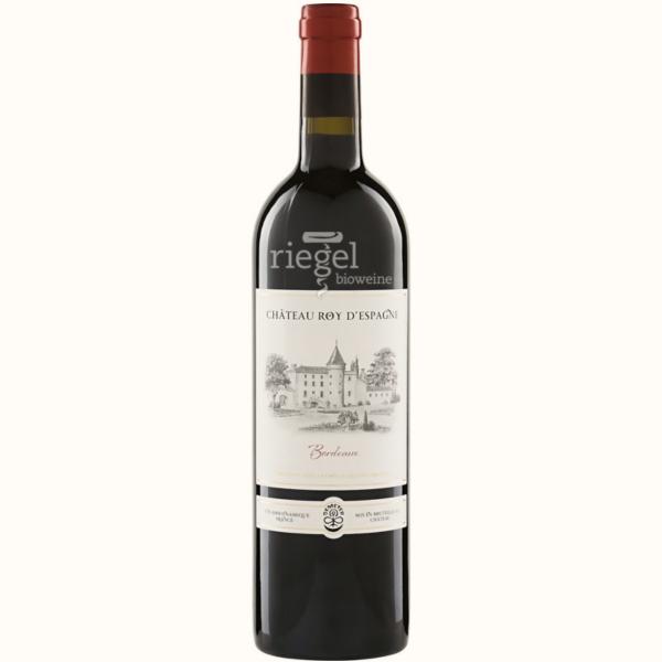 Chateau Roy d Espagne Bordeux, Biowein, Riegel Biowein, Wein kaufen