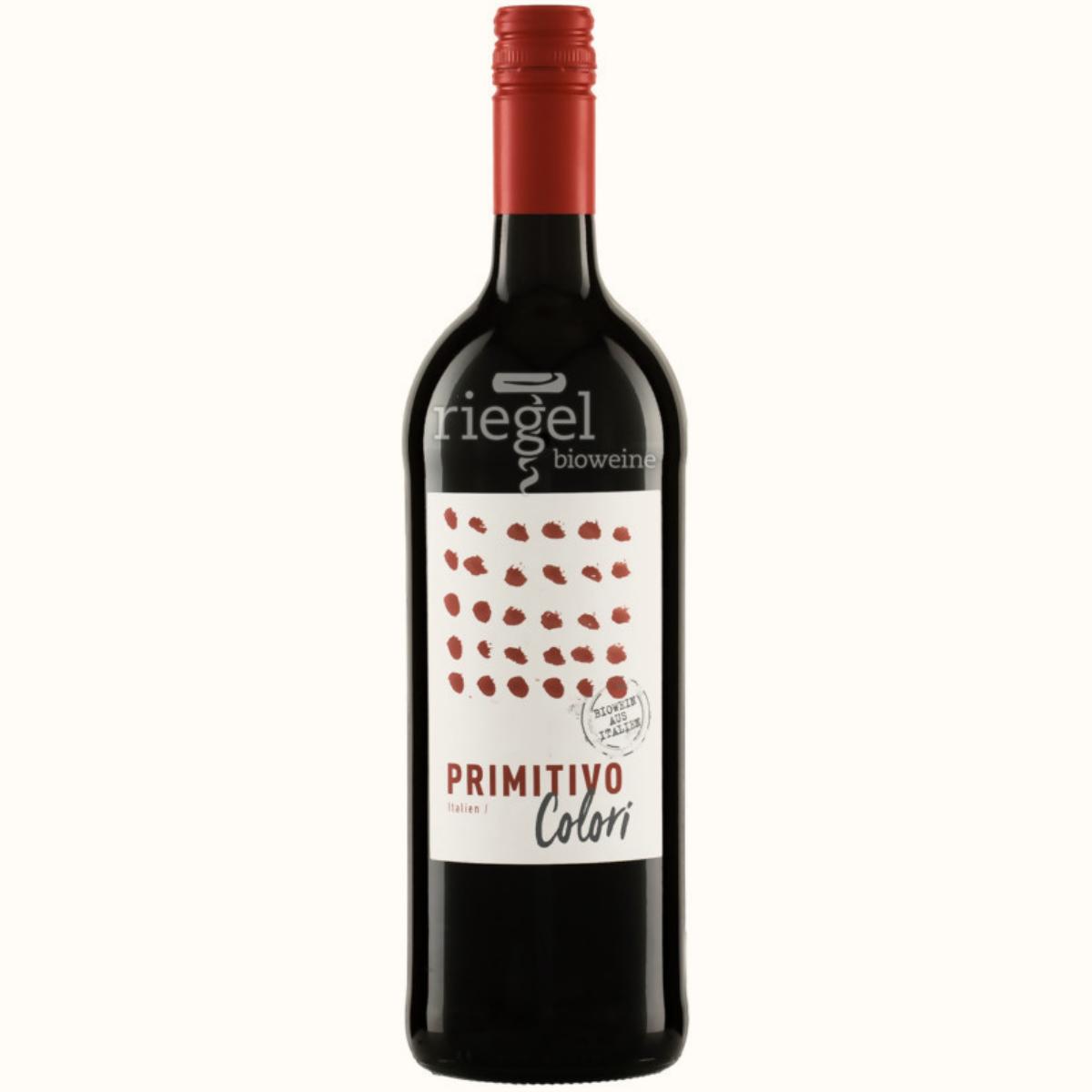Colori Primitivo, Biowein, Riegel Biowein, Wein kaufen
