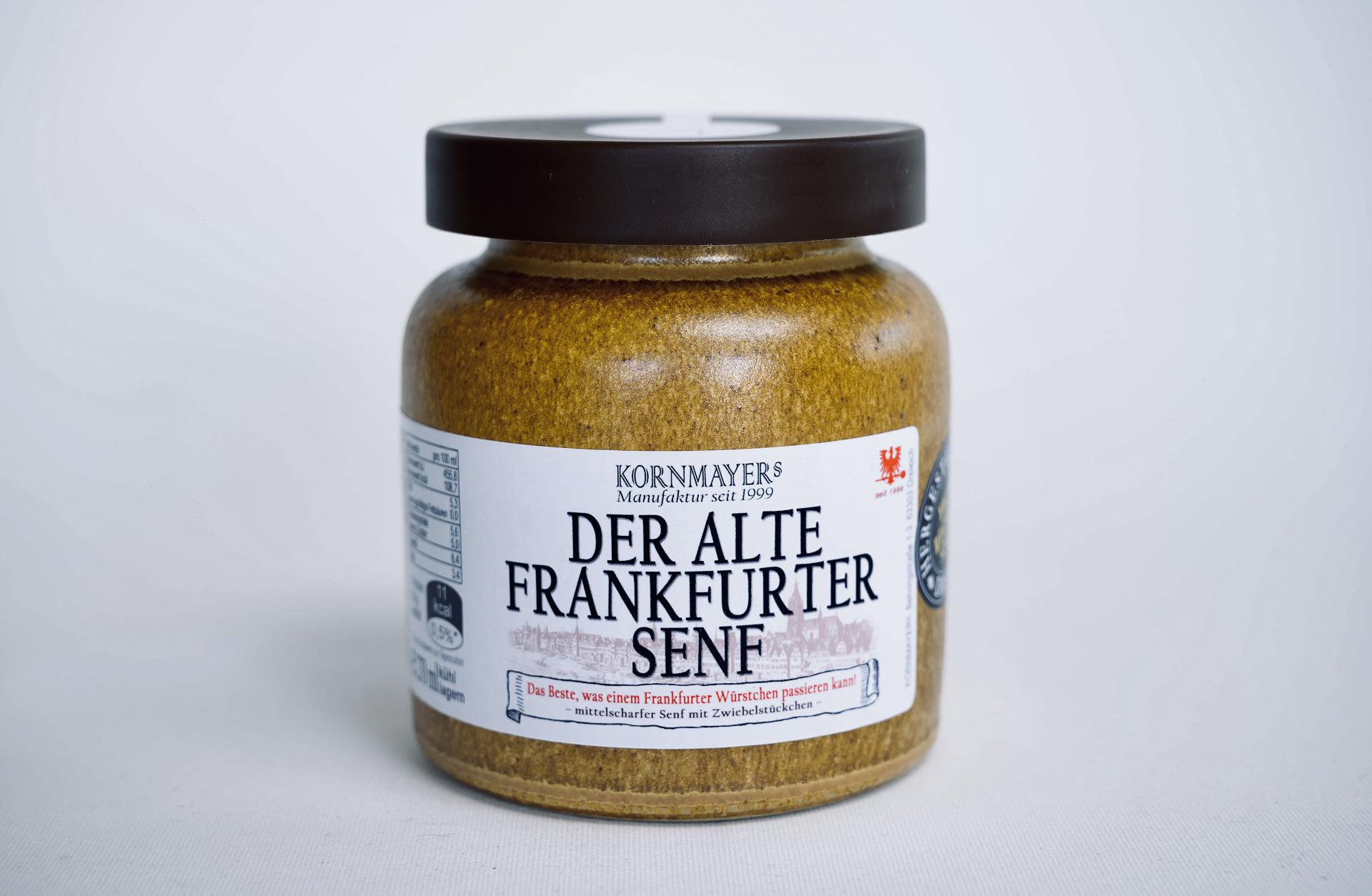 Senf, Frankfurter Senf, Kornmayer, Kornmayers