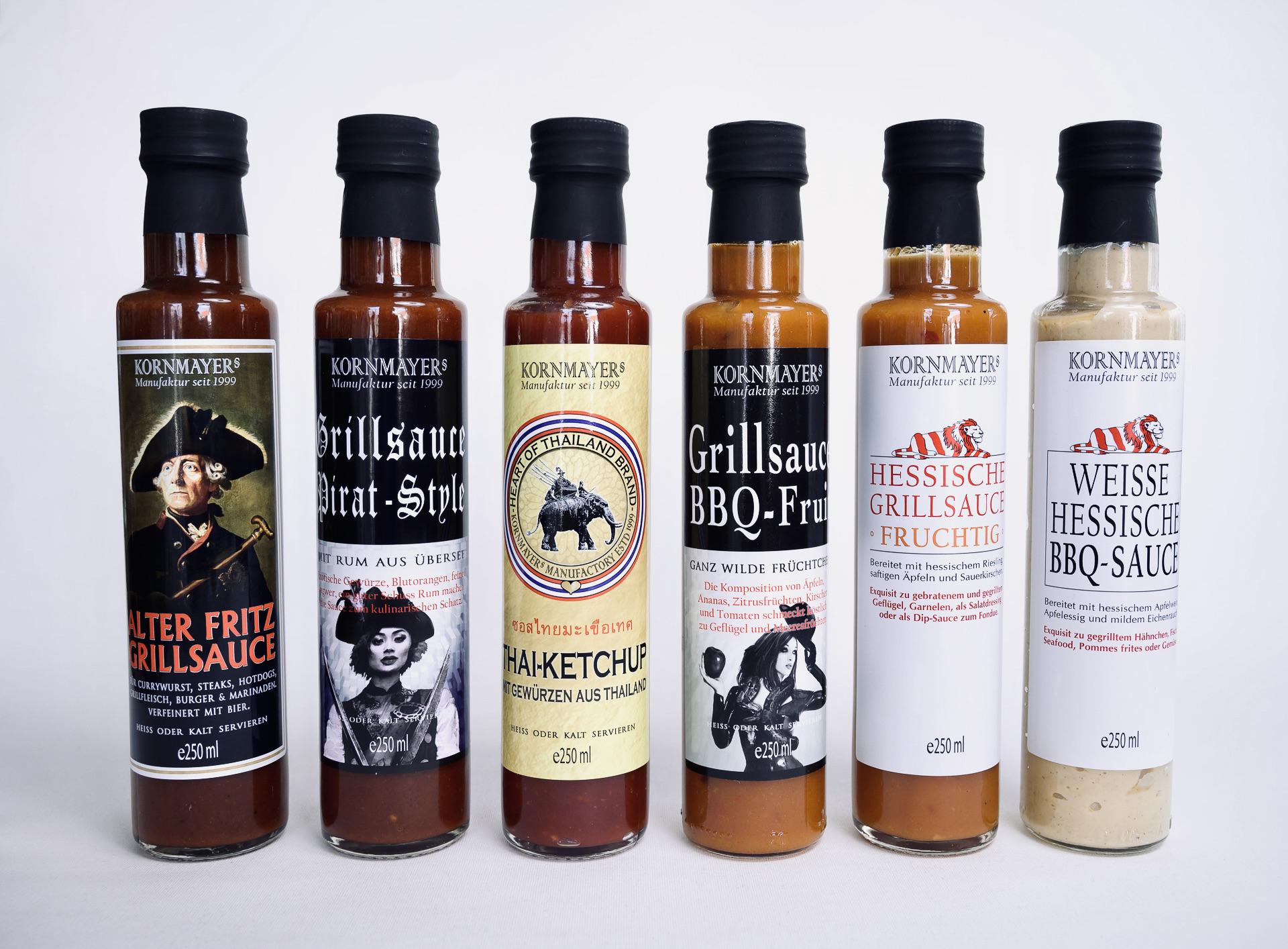Hessische Grillsoße, BBQ Soße, Sauce, Grillsoße, Hessische Spezialitäten, Einkaufen in Waldeck am Edersee