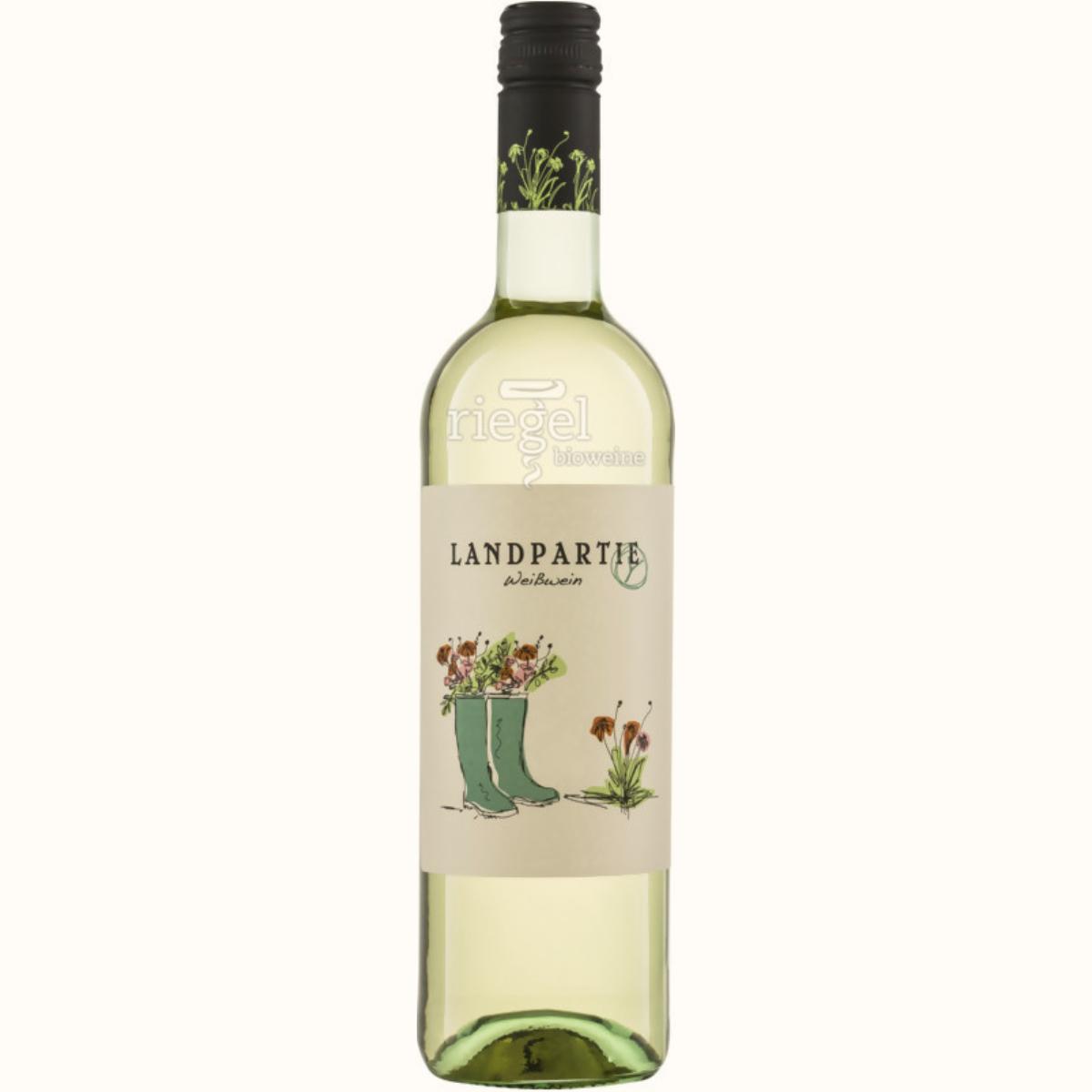 Landpartie Weißwein, Biowein, Riegel Biowein, Wein kaufen