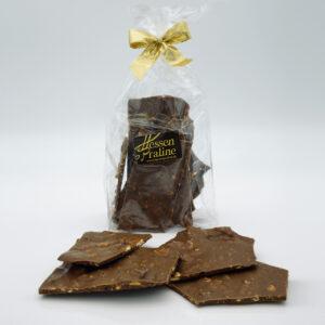 Schokolade, Bruchschokolade, Hessenpraline