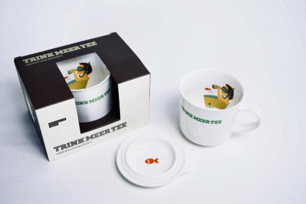 Teetasse, Teebecher, Trink Meer Tee