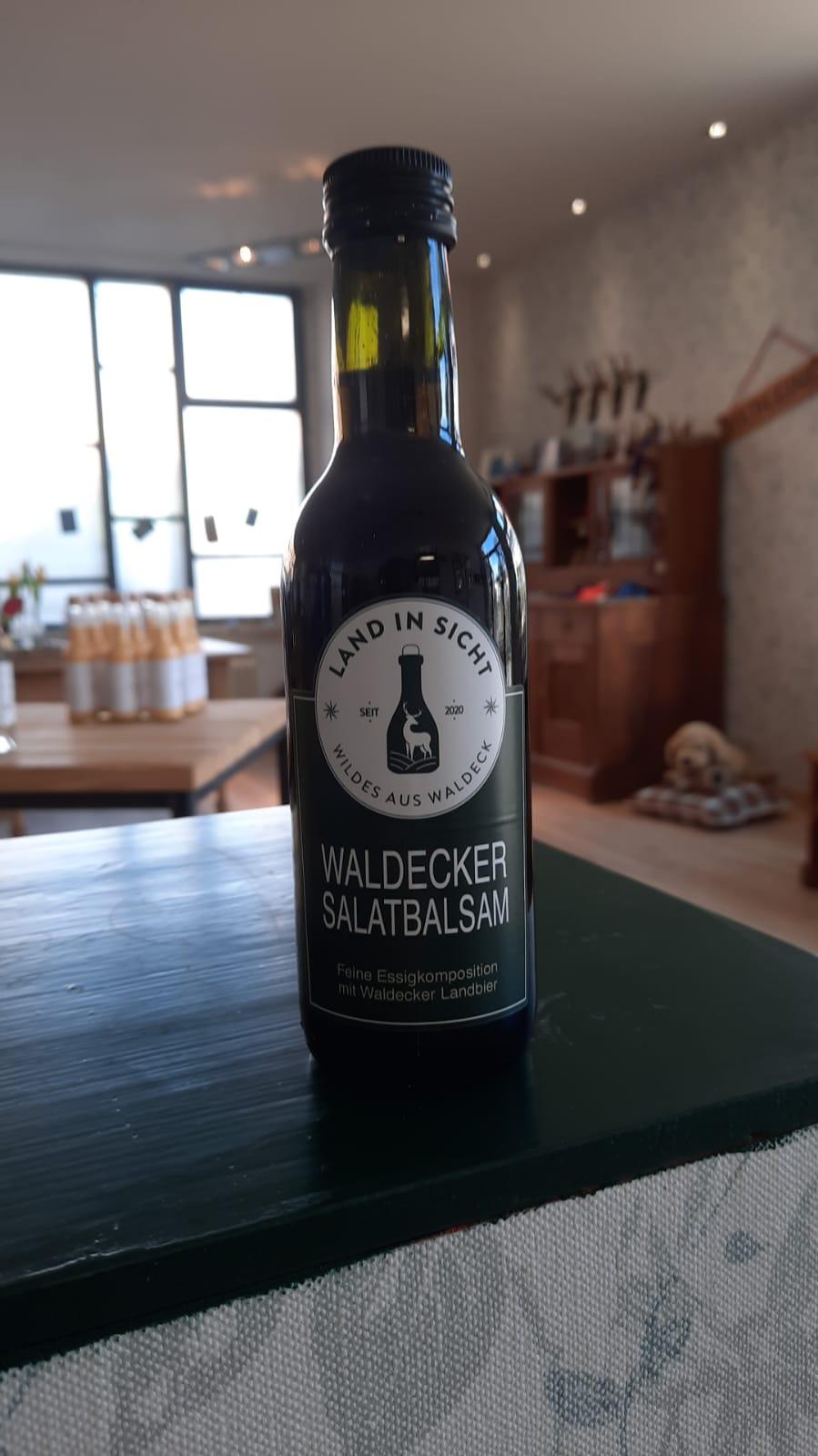 Waldecker Salatbalsam, Salatdressing, Essig