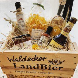 Hessische Spezialitäten, Geschenkkorb, Geschenkkörbe, Präsentkörbe, Hessisch, Waldeck
