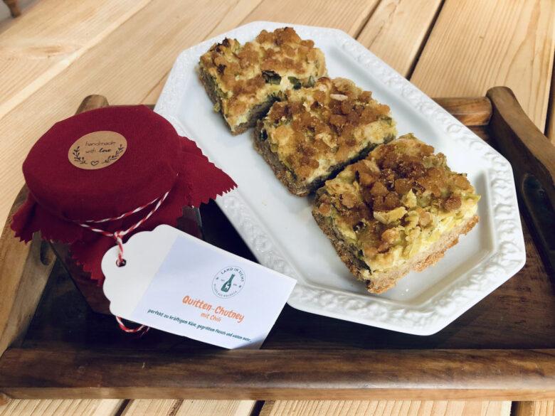 Hessischer Speckkuchen, Grüner Kuchen, Kuchen mit Speck, Nordhessen, Waldeck, Hessische Spezialität