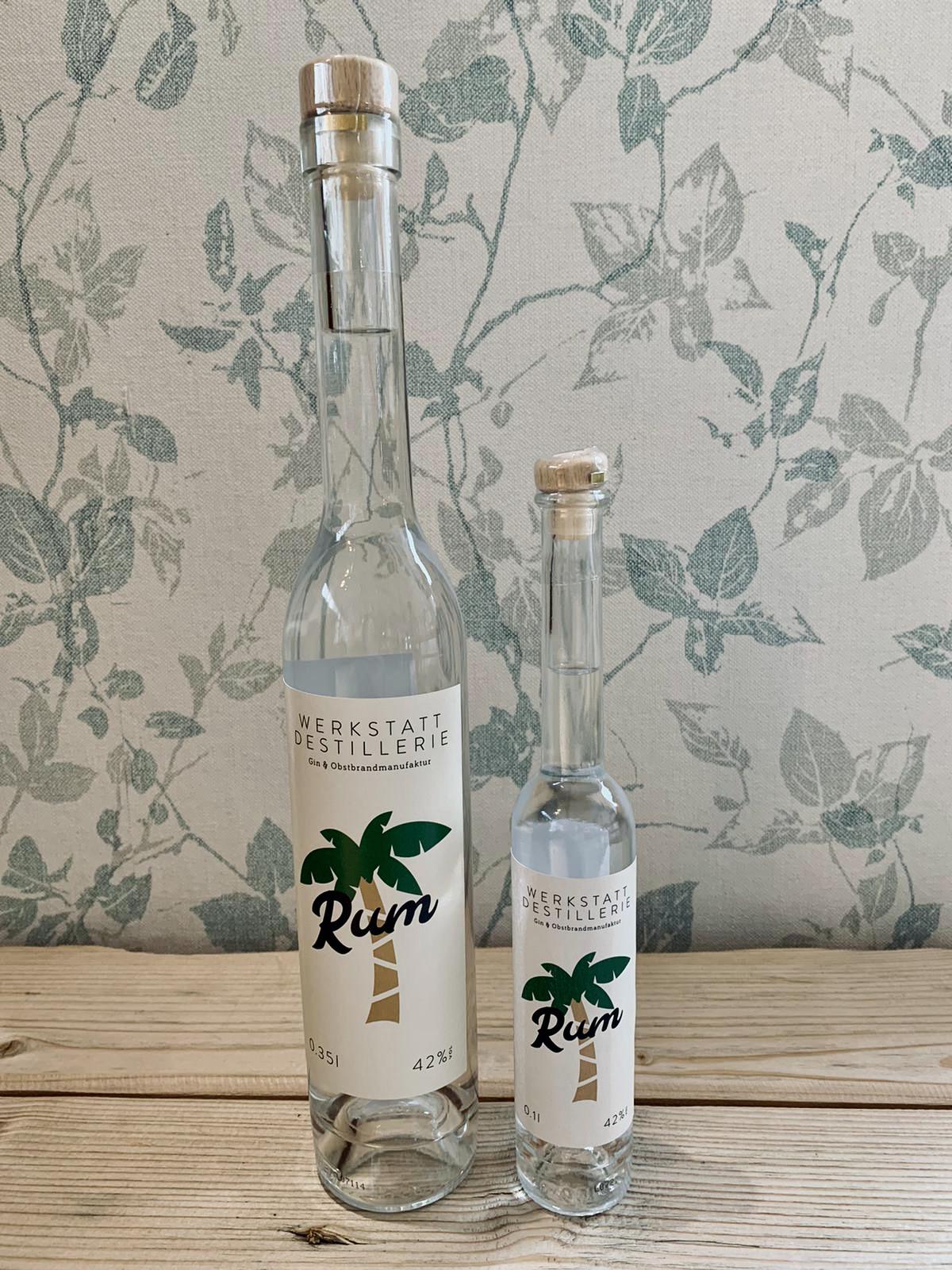 Werkstatt Destillerie, Exoten Brand, Rum, Brand, Schnaps