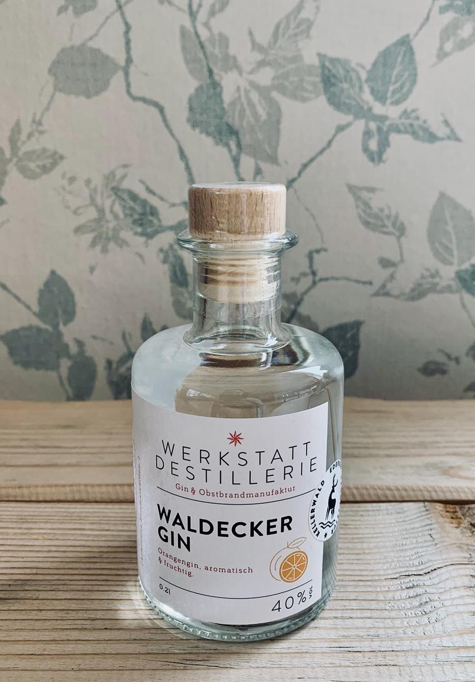 Werkstatt Destillerie, Orangen Gin, Waldecker Gin