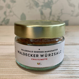 Kellerwald Edersee Manufaktur, Waldecker Würzsalz, Chili Limette