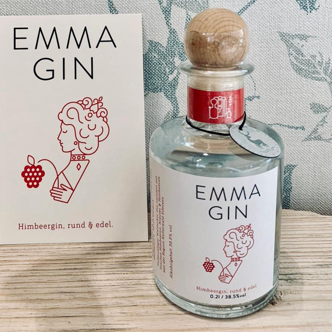 Emma Gin, Waldecker Gin mit Himbeeren