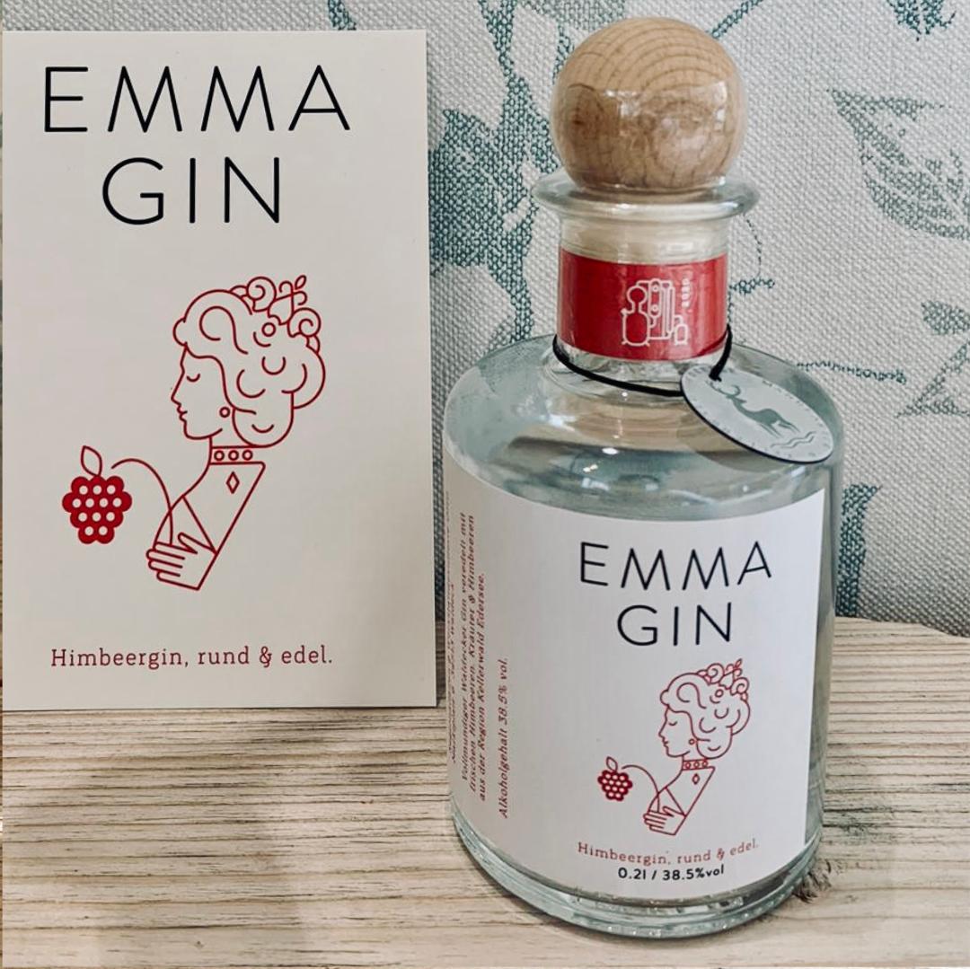 Emma Gin, Waldecker Gin mit Himbeeren, Gin, Waldeck
